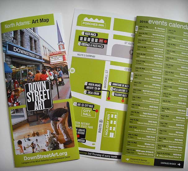 Downstreet Art Brochure